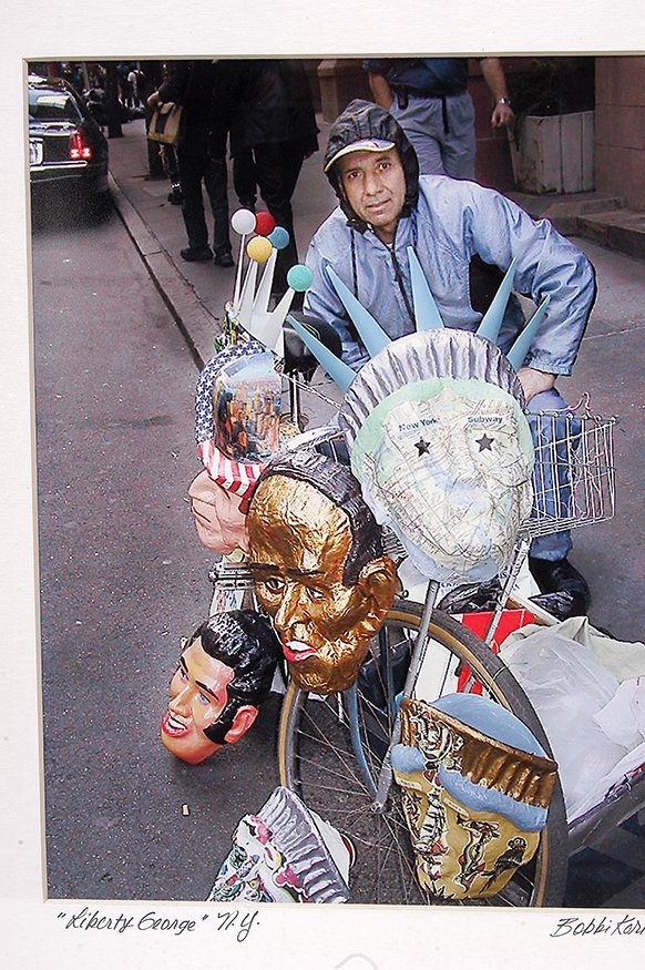 Liberty George Dukov. Liberty Mask & Photo. - 3