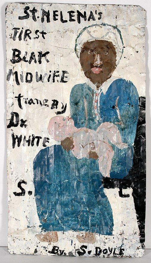 Sam Doyle. St. Helena's First Blak Midwife (sic).