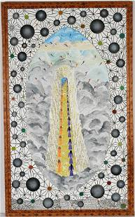 Howard Finster. Jacob's Ladder, #2,281.