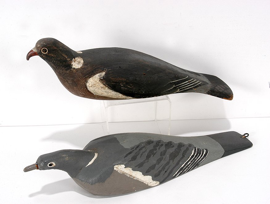 Harry Boddy. Early English Pigeon Decoys.