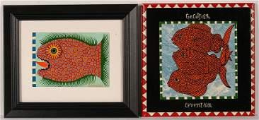 Levent Isik. Red Fish & Goldfish.