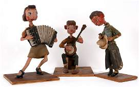 3 Early Musical Figures  A Cowboy