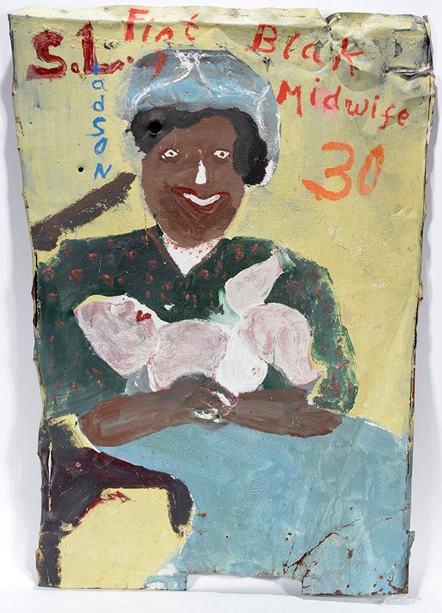 Sam Doyle. S. Ladson Firt Blak Midwife (sic.)