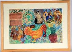 Ezekiel Gibbs (1889-1992). Untitled.