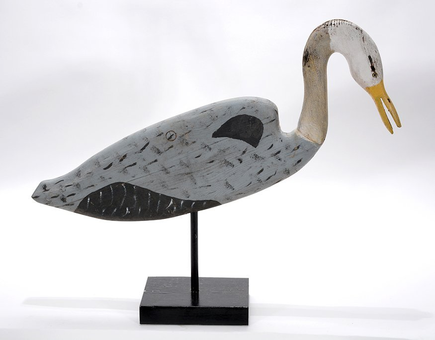 """Miles """"Miley"""" Smith. Great Blue Heron."""