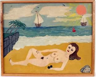300: Antonio Esteves Reclining Nude