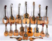 Lifetime Work Of Musical Instruments.