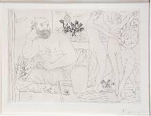Pablo Picasso. Vollard Suite XXXIV '16 Etching.