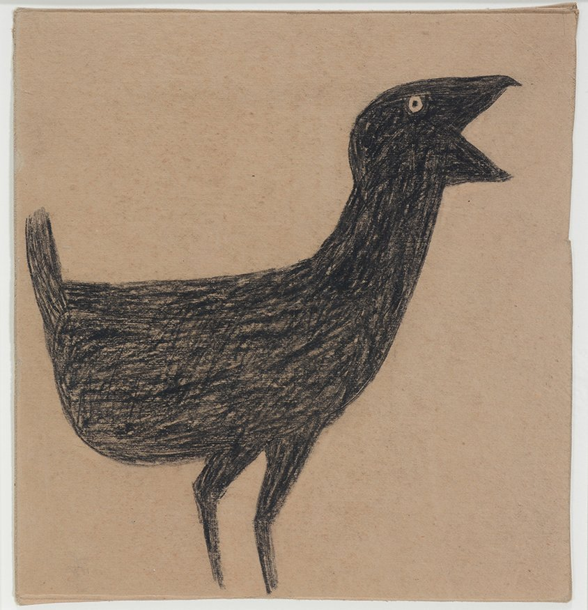 Bill Traylor. Baby Chick.