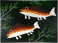 John Cornbread Anderson Two Speckled Brown Trout