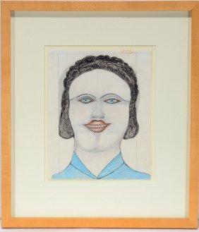 S.l. Jones. Woman's Portrait.