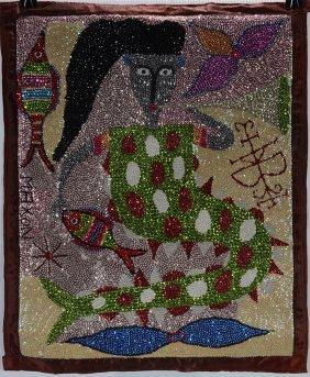 Maxon. Mermaid Voodoo Flag.