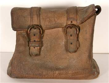 Marilyn Levine. Ceramic Saddlebag.