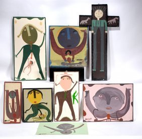 Mose Tolliver & Family. Eight Works.