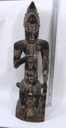 18: Baule Chief Ancestor Figure