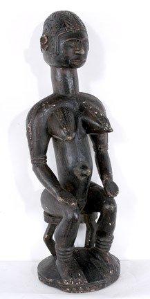 23: Baga Seated Female Figure