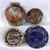 256: Dolores Porras Ceramic Pottery Pieces
