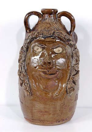 9: Marie Rogers Double-sided Face Jug