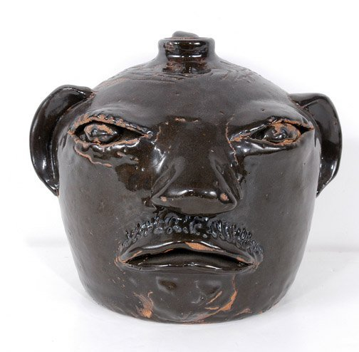 53: Arie Meaders Face Jug