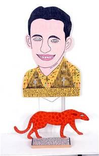 583: Howard Finster Howard and Cheetah