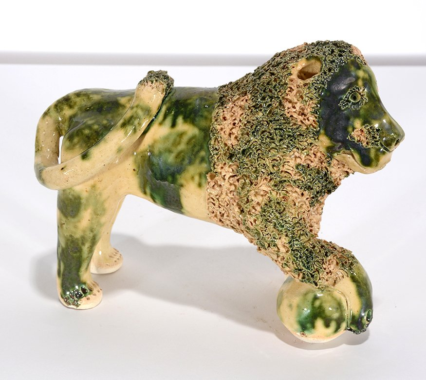 Billy Ray Hussey. Green And Cream Bennington Lion.