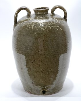 Chester Hewell. Edgefield-Style Water Jug.