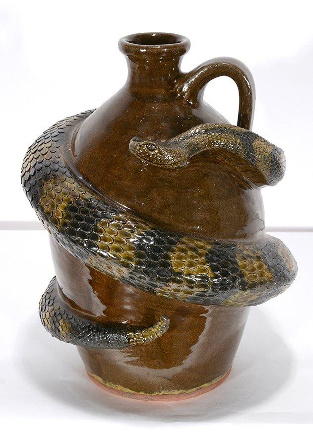 Michael & Melvin Crocker. Southern Rattlesnake Jug.