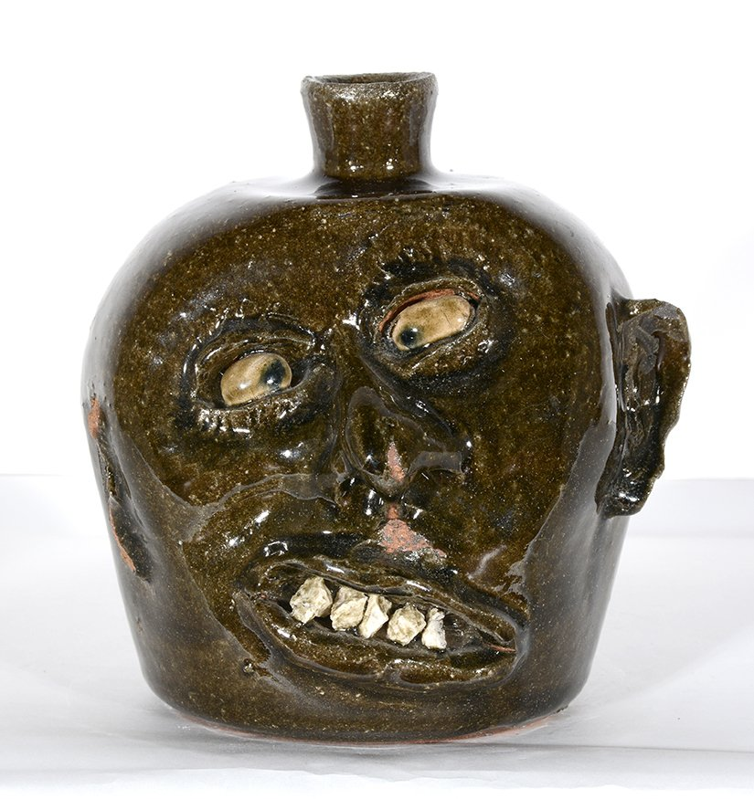 Lanier Meaders. Vango Face Jug.