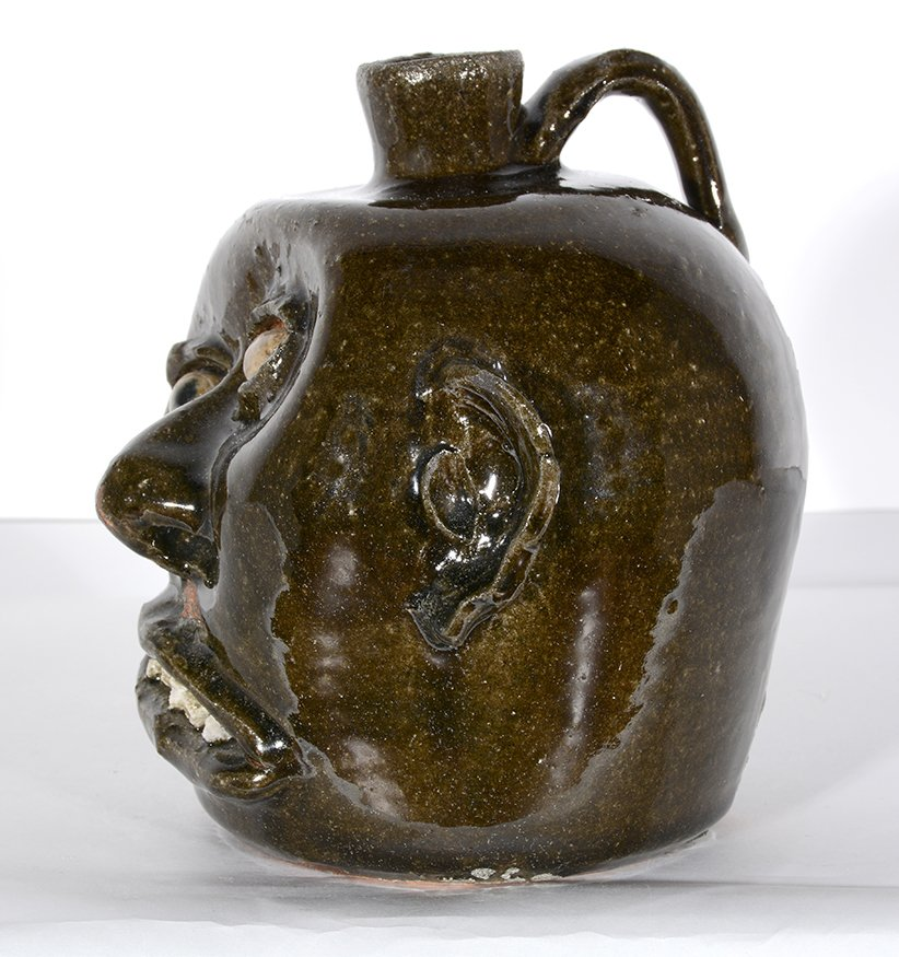 Lanier Meaders. Vango Face Jug. - 4