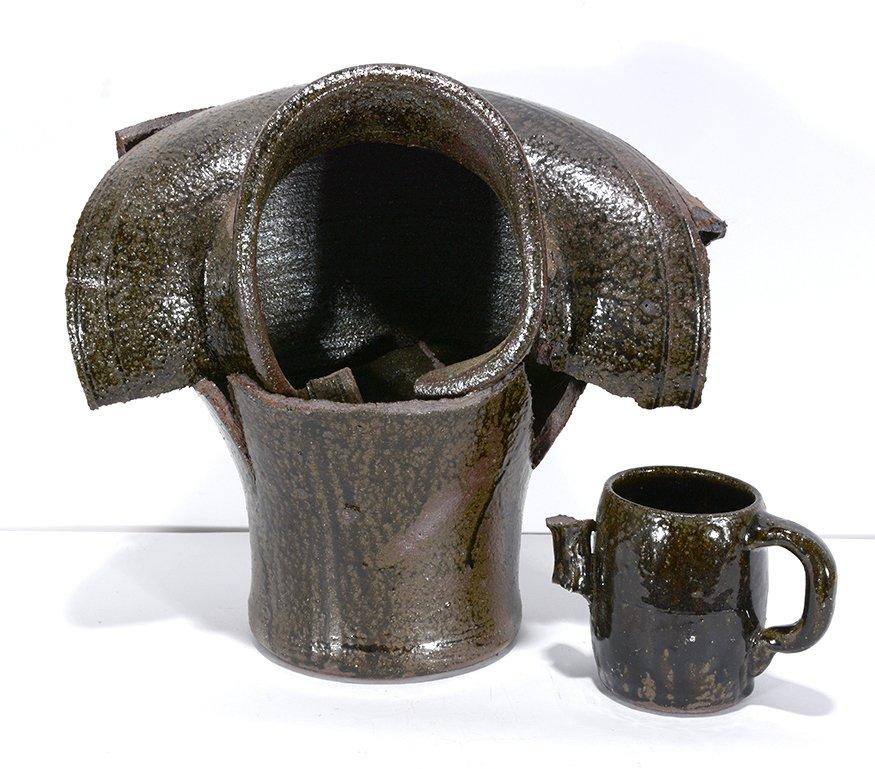 Lanier Meaders. Kiln Collapse Vase.