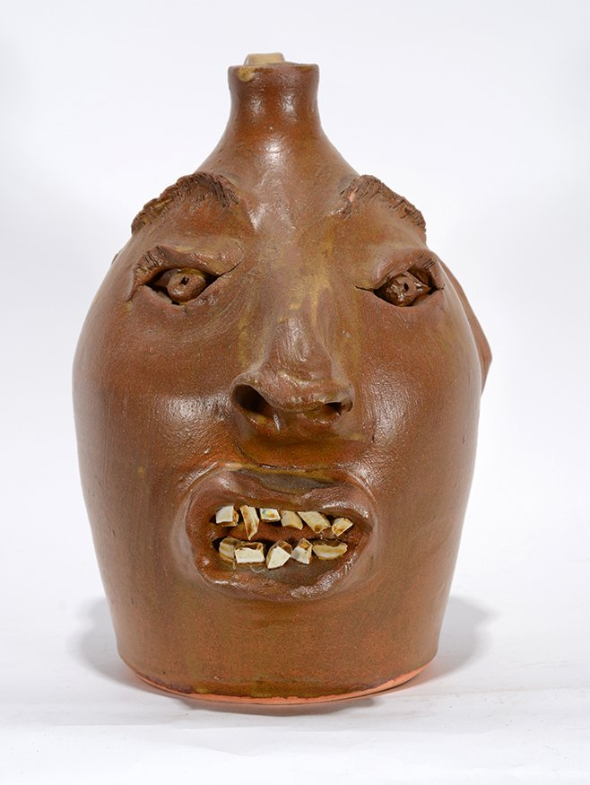 Robert Brown. Brown Face Jug.