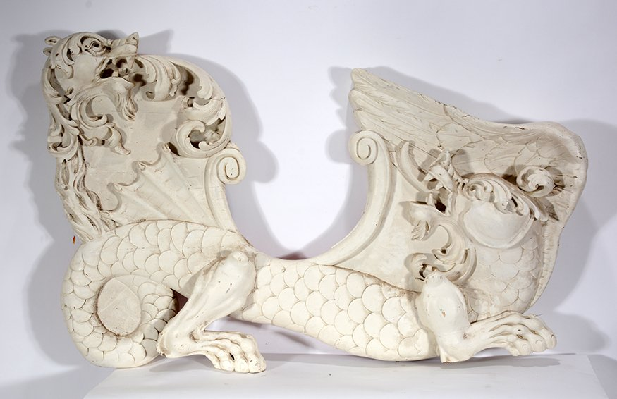 Carmel Company. Carousel Dragon Chair Side