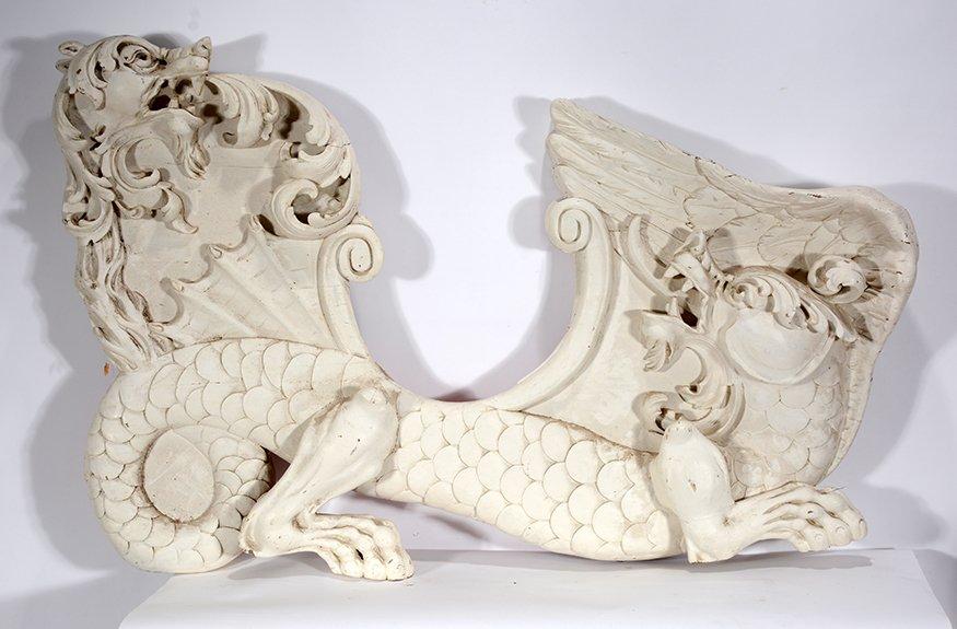 Carmel Company. Carousel Dragon Chair Side - 2