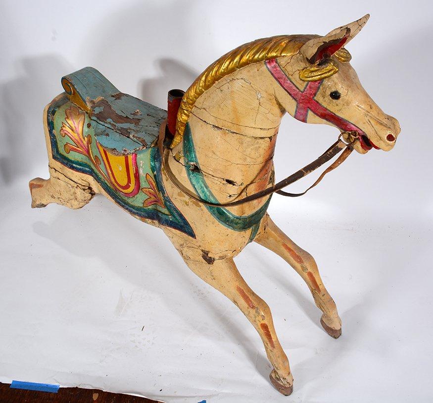 English Carousel Horse. Wayne. - 4