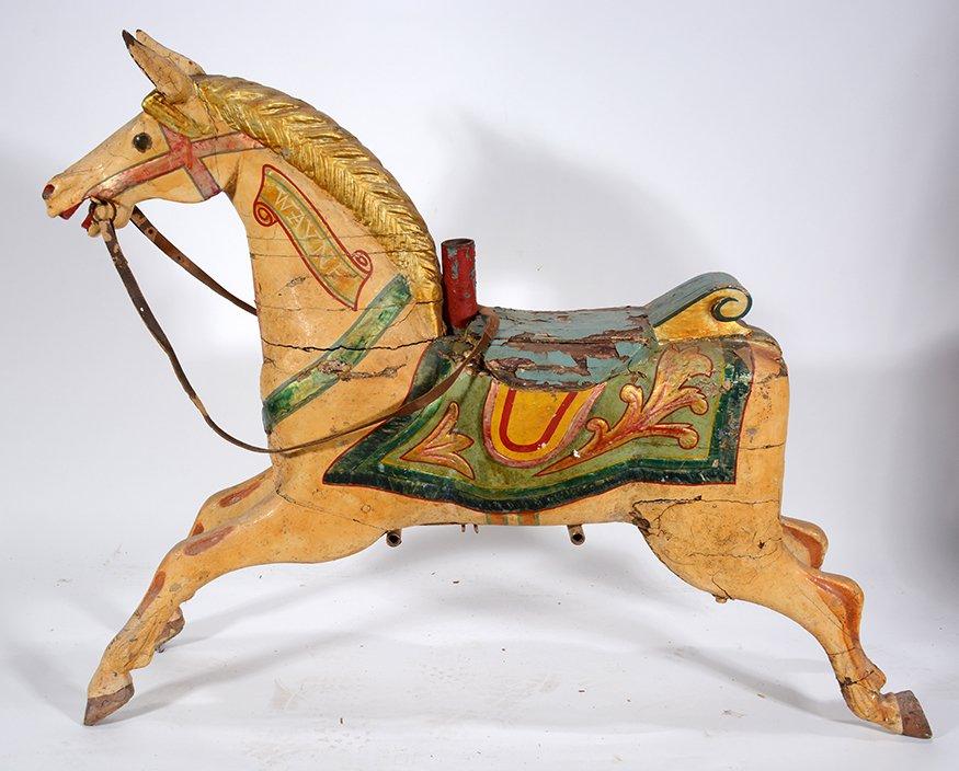 English Carousel Horse. Wayne. - 6
