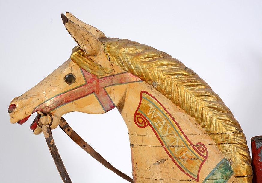 English Carousel Horse. Wayne. - 7