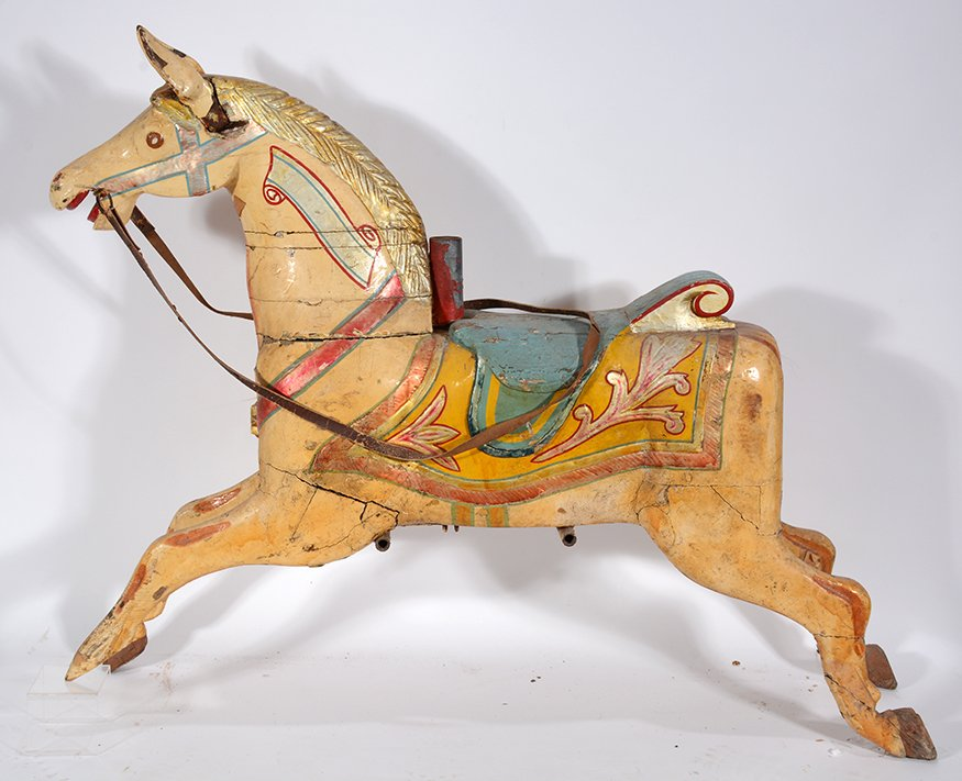 English Carousel Horse. Perry.