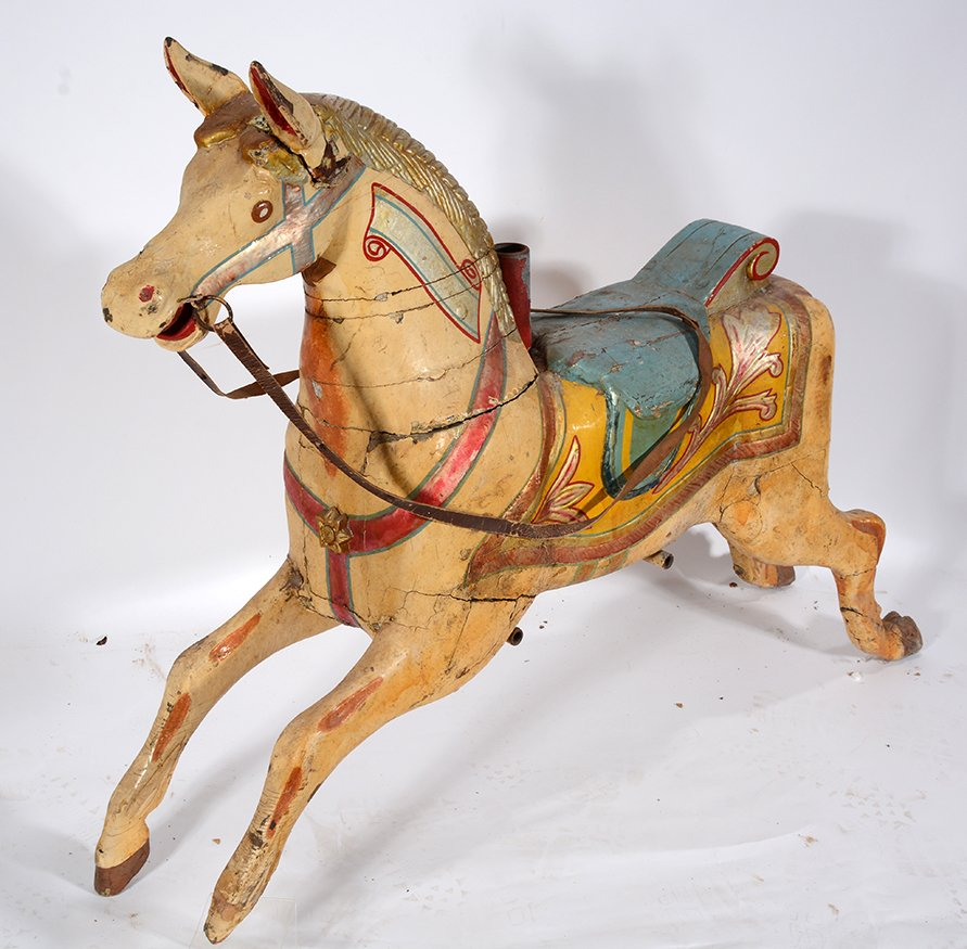 English Carousel Horse. Perry. - 3