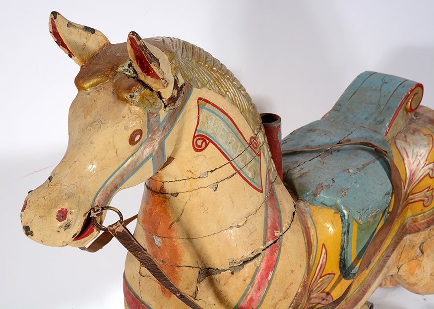 English Carousel Horse. Perry. - 4