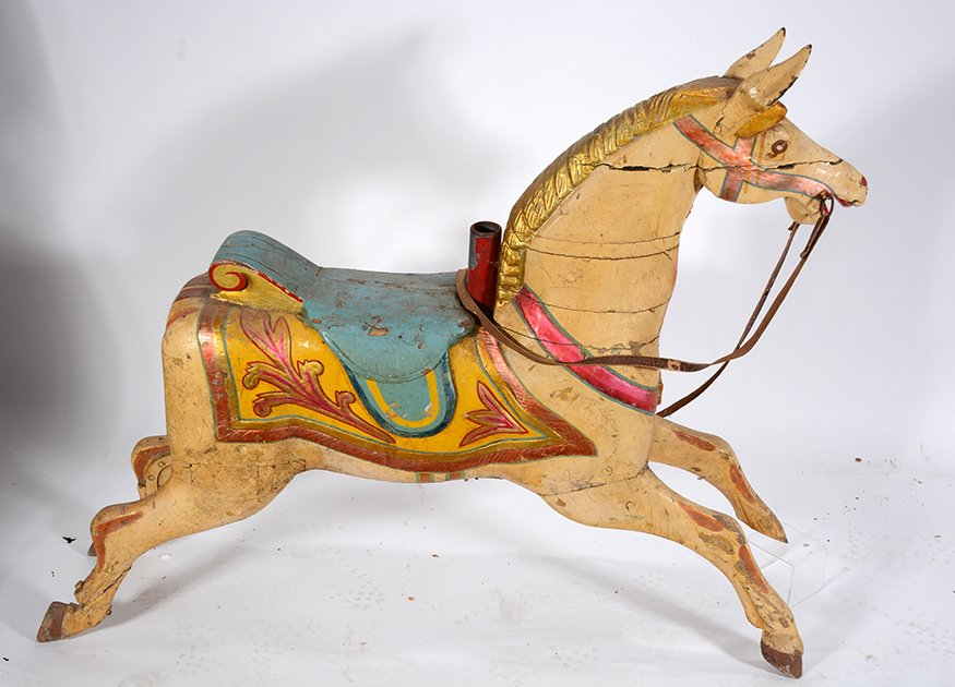 English Carousel Horse. Perry. - 5
