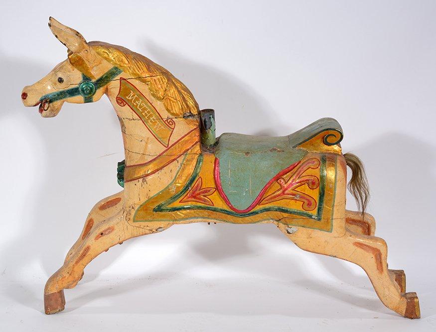 English Carousel Horse. Mathew.