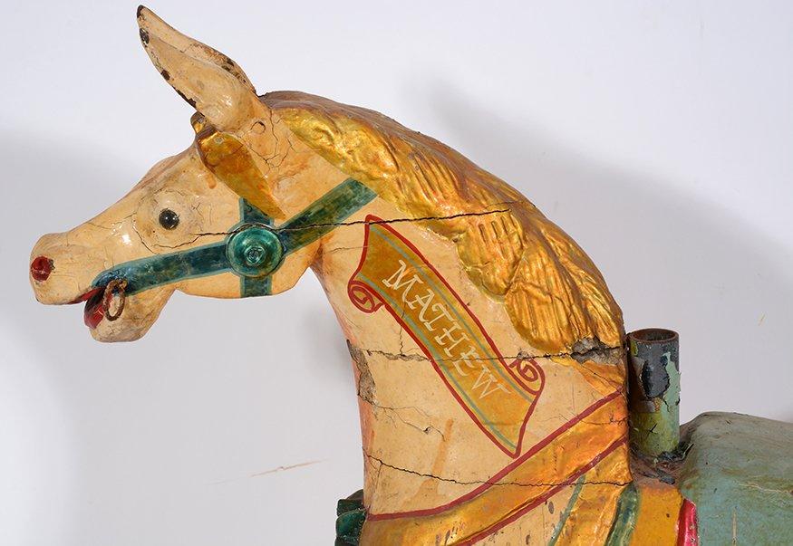 English Carousel Horse. Mathew. - 2