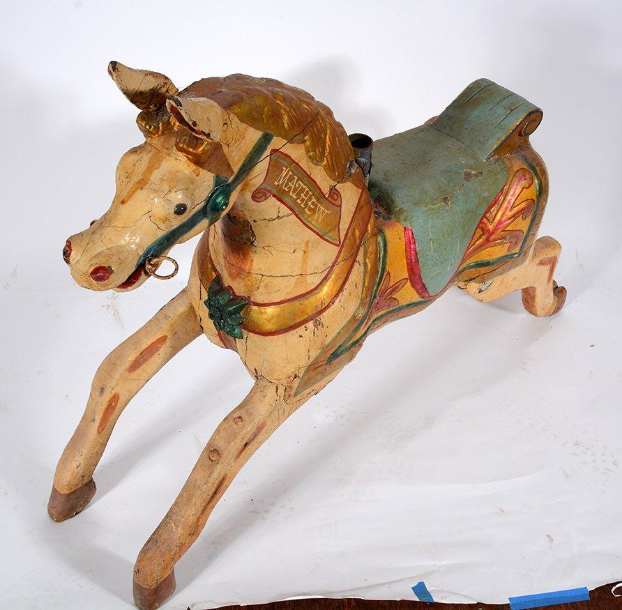 English Carousel Horse. Mathew. - 4