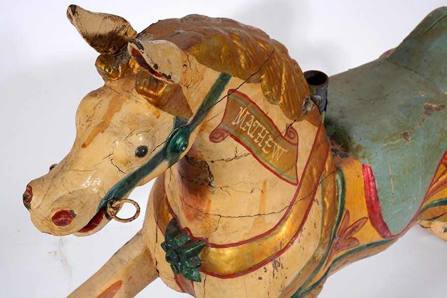 English Carousel Horse. Mathew. - 5