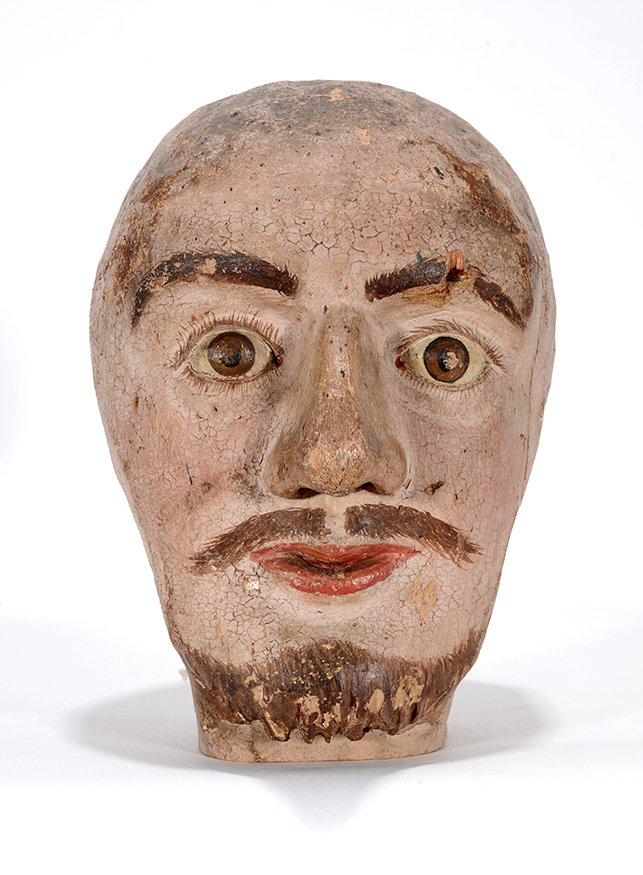 Anonymous Early Carnival Man's Bust