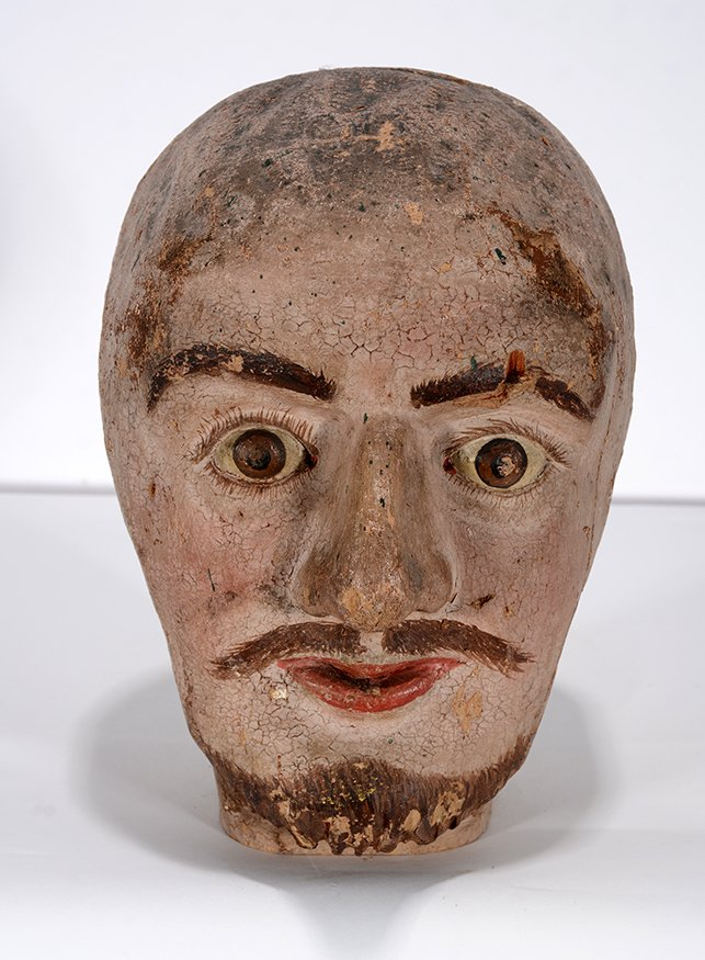 Anonymous Early Carnival Man's Bust - 2