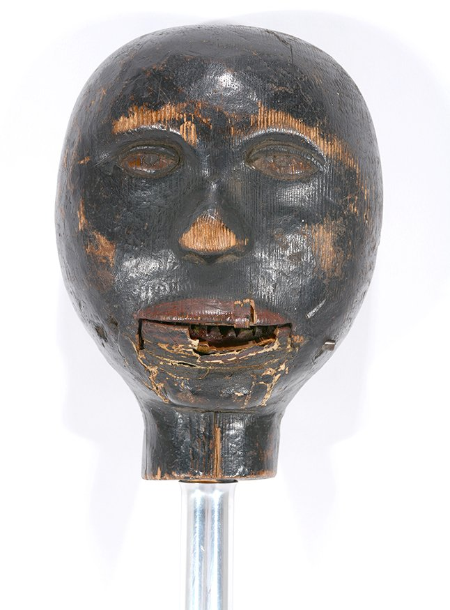 Anonymous African-American Marionette Head.