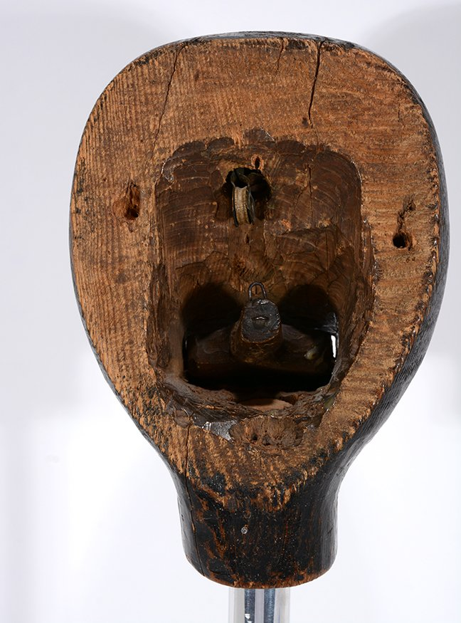 Anonymous African-American Marionette Head. - 3