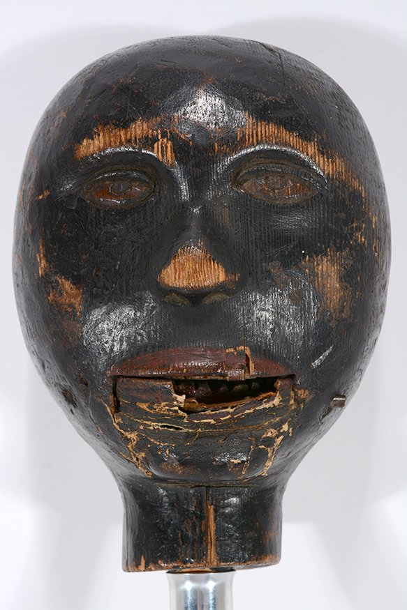 Anonymous African-American Marionette Head. - 6
