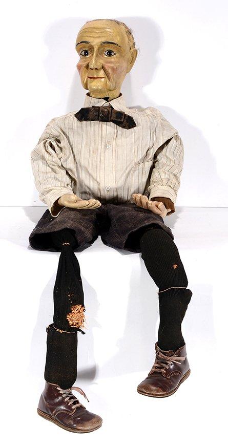 Ventriloquist Dummy Old Man.
